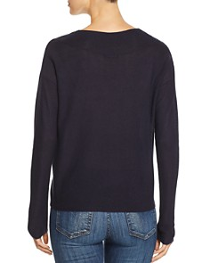 Eileen Fisher Petites - Boxy V-Neck Sweater
