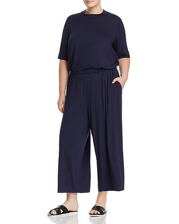 Eileen Fisher Plus - Wide-Leg Jumpsuit