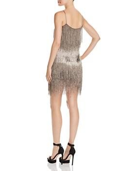 Rachel Zoe - Della Metallic Fringe Mini Dress