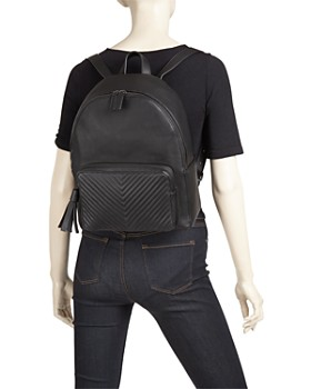 AQUA - Chevron Medium Backpack - 100% Exclusive