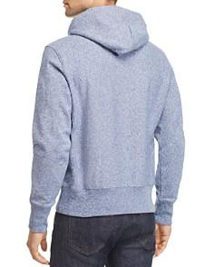 Champion Reverse Weave - Jasper Textured-Logo Hooded Sweatshirt