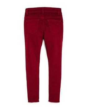 DL1961 - Girls' Red Chloe Skinny Jeans - Little Kid