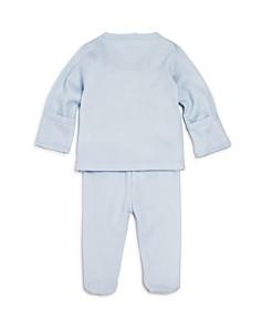 Kissy Kissy - Boys' Pointelle Take Me Home Shirt & Footie Pants Set - Baby
