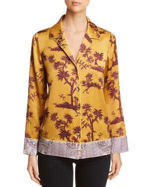 Scotch & Soda Printed Pajama-Style Top