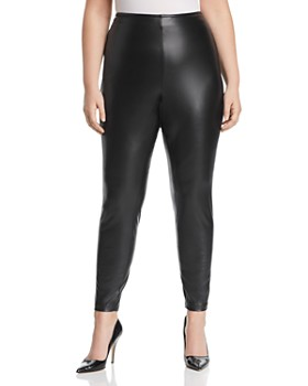 VINCE CAMUTO Plus - Faux-Leather Leggings