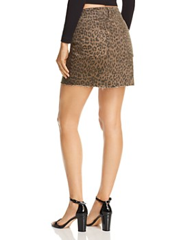 Pistola - Sierra Leopard Print Denim Skirt - 100% Exclusive