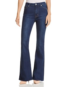 Hudson - Holly High Rise Flared Jeans in Gaines - 100% Exclusive