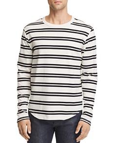 FRAME Striped Long-Sleeve Tee - Bloomingdale's_0