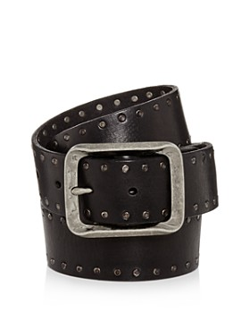 John Varvatos Star USA - Studded Leather Belt