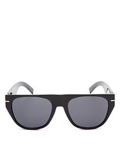 Dior Homme - Men's Black Tie Flat Top Square Sunglasses, 62mm