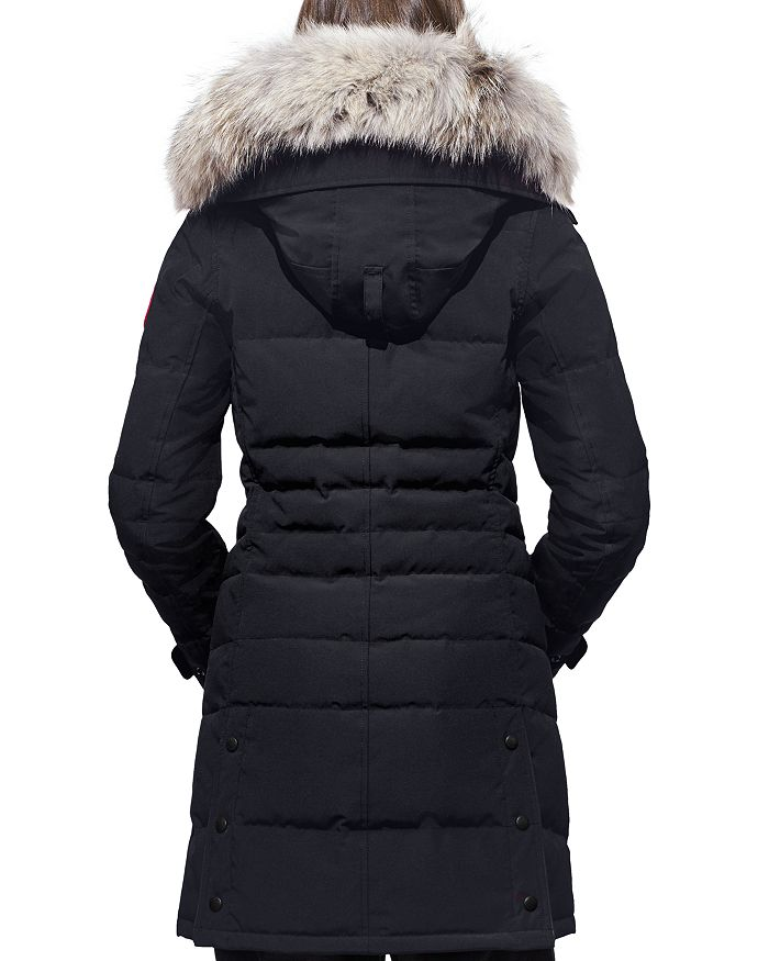 696c3faaa Lorette Coyote Fur Trim Down Coat