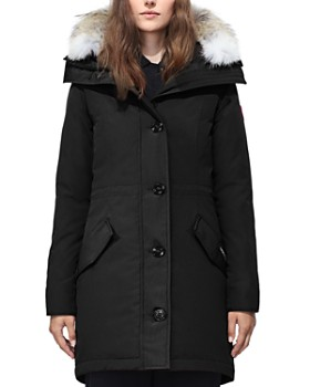 1a47bcf6d Canada Goose - Rossclair Fur Trim Down Parka ...