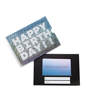 Bloomingdale's - Happy Birthday! Gift Card