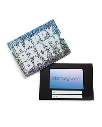 Bloomingdale's - Happy Birthday! Gift Card