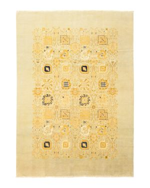 Solo Rugs Ottoman Libby Hand-Knotted Area Rug, 10'1 x 14'5