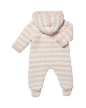 Angel Dear - Girls' Sherpa-Lined Knit Footie - Baby
