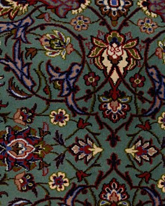 """Solo Rugs - Isfahan Alanna Hand-Knotted Runner Rug , 3'0"""" x 13'4"""""""