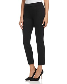 Three Dots - Piped Ponte Ankle Pants