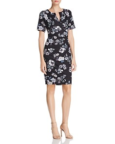 Adrianna Papell - Floral Print Sheath Dress - 100% Exclusive