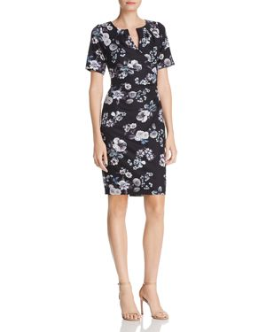 Adrianna Papell Floral Print Sheath Dress - 100% Exclusive