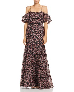 Keepsake - One Love Floral Print Gown