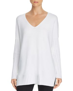 French Connection V-neck Tunic Sweater