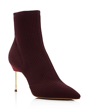 Kurt Geiger Women's Barbican Pointed Toe Knit Booties