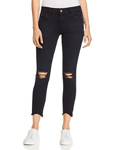 DL1961 - Florence Crop Skinny Jeans in Blackstone