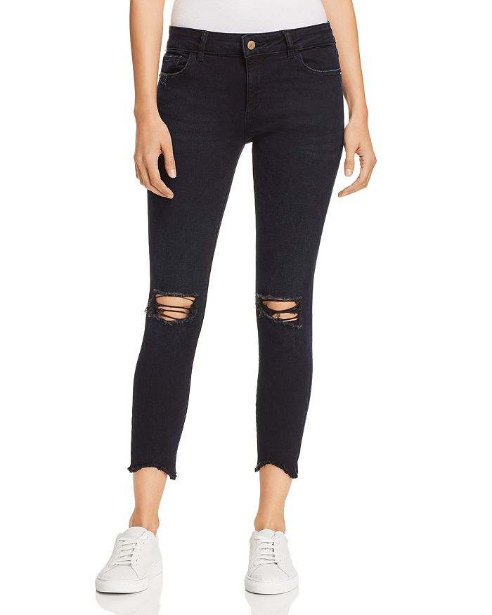 DL1961 - Florence Crop Skinny Jeans in Blackstone