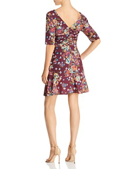 WAYF - Gabby Ruched Floral Print Dress - 100% Exclusive