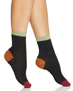 Happy Socks Hysteria Grace Ankle Socks - Bloomingdale's_0