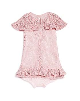 Pippa & Julie - Girls' Ruffled Lace Dress & Bloomers Set - Baby