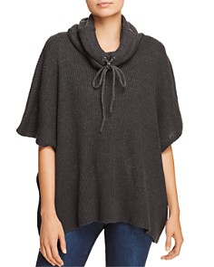 AQUA Reversible Cowl-Neck Poncho - 100% Exclusive - Bloomingdale's_0