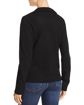 C by Bloomingdale's - Cashmere Moto Cardigan - 100% Exclusive