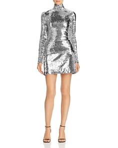 MILLY - Modern Sequined Mini Skirt