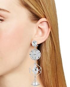Atelier Swarovski - Nostalgia Triple Drop Earrings