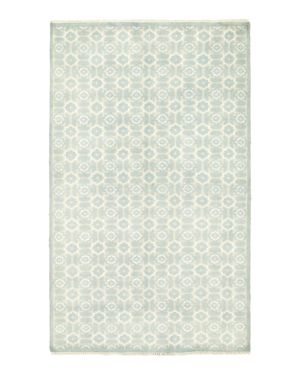Solo Rugs Modern Landon Hand-Knotted Area Rug, 5' x 8' 1