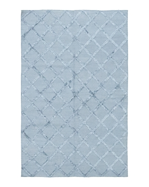 Solo Rugs Flatweave Nadia Hand-Knotted Area Rug, 6'1 x 9'1