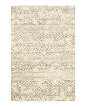 Solo Rugs Modern Aspen Hand-Knotted Area Rug, 6' 1 x 9' 1