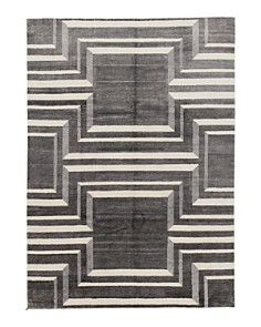 """Solo Rugs - Modern Magdalene Hand-Knotted Area Rug, 9' x 12' 2"""""""