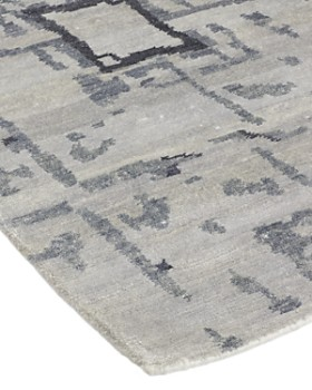 """Solo Rugs - Modern Khloe Hand-Knotted Area Rug, 10' x 14' 1"""""""