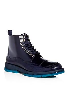 Jimmy Choo - Men's Baldwin Leather Cap Toe Boots