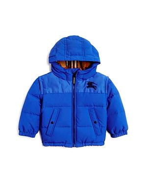 Burberry Boys Mini Ezra Hooded Down Puffer Coat  Baby