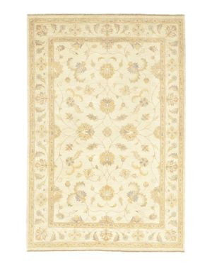 Solo Rugs Oushak Leyla Hand-Knotted Area Rug, 6'1 x 9'2