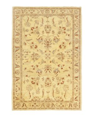 Solo Rugs Oushak Cavia Hand-Knotted Area Rug, 6' x 9' 3