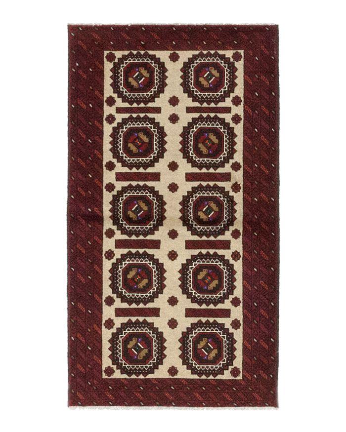 Solo Rugs - Balouch Tajik Hand-Knotted Area Rug, ...