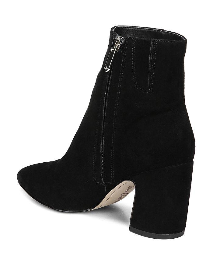 bb57c170be60 Sam Edelman Women s Hilty Pointed Toe Block High-Heel Ankle Booties ...