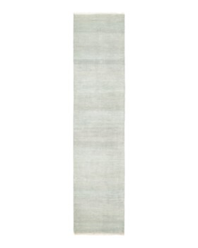 """Solo Rugs - Savannah Cambridge Hand-Knotted Runner Rug, 2' 5"""" x 11' 1"""""""