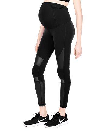 9f33f657c96d1 Ingrid & Isabel Maternity Active Moto Leggings | Bloomingdale's
