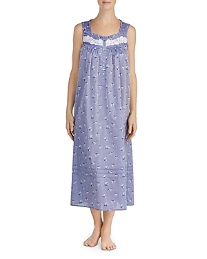Eileen West SLEEVELESS COTTON LONG BALLET NIGHTGOWN